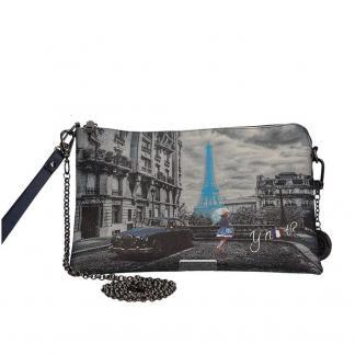 YNOT POCHETTE HANDLE MEDIUM K303 BLUE R PARIS