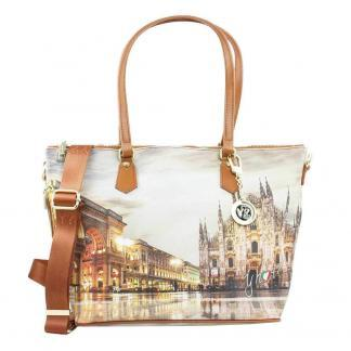 YNOT SHOPPING BAG ZIP MED K396 MILANO