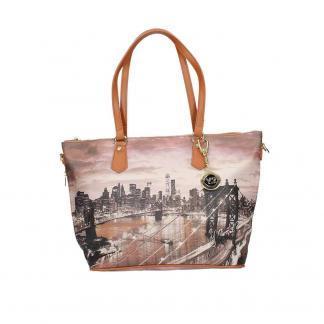 YNOT SHOPPING BAG ZIP MED K396 EAST R NEW YORK