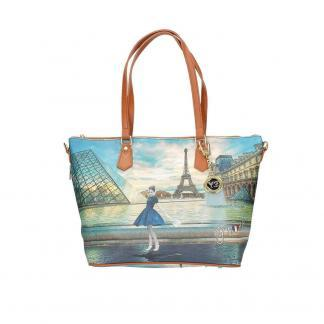 YNOT SHOPPING BAG ZIP MED K396 DANCE PARIS