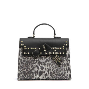 ERMANNO SCERVINO BORSA LARGE KELLY DUDU LEO 12400600 BLACK