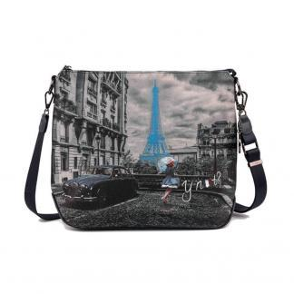 YNOT CROSSBODY BAG MEDIUM K391 BLUE R PARIS