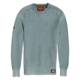 SUPERDRY Maglione girocollo Garment Dye L.A Textured M61013N UP7