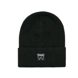 WRANGLER BASIC BEANIE BLACK W0M03UH01