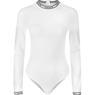 LEVI'S Long Sleeve Bodysuit donna 69576 0001 bianco