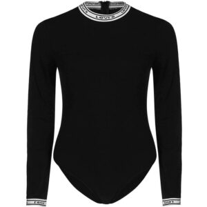 LEVI'S Long Sleeve Bodysuit donna 69576 0002 nero