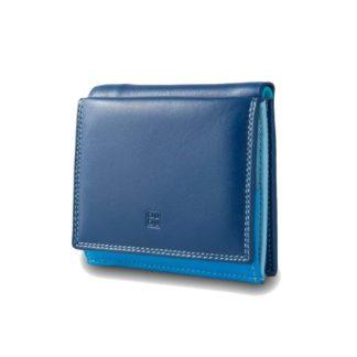 DUDUBAGS PORTAFOGLIO PICCOLO C/CRED LINEA COLORFUL FLAVIO 216 blue