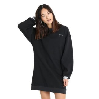 LEVI'S Long Sleeve Sweatshirt Dress 69779 0000 nero