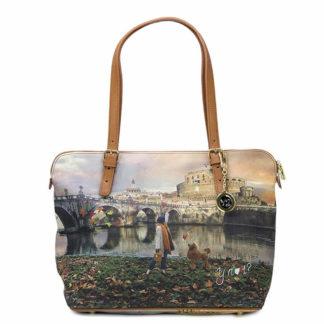 YNOT SHOPPING BAG MEDIUM K377 JOYFUL ROMA