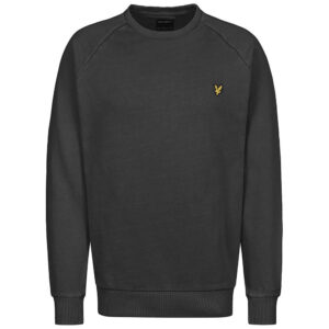 LYLE & SCOTT FELPA CREW NECK ML1001V 572 TRUE BLACL