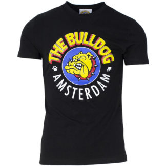 THE BULLDOG AMSTERDAM T SHIRT TBDA065 NERO