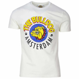 THE BULLDOG AMSTERDAM T SHIRT TBDA065 OFFWHITE