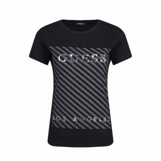 GUESS T-SHIRT DONNA W91I72 K7WS0 JBLK NERO