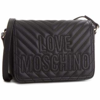 LOVE MOSCHINO BORSA QUILTED PU NERO JC4262PP06KI0000