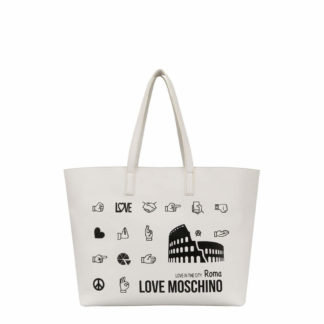 LOVE MOSCHINO BORSA PU BIANCO JC4090PP17LK0100