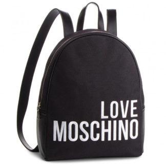 LOVE MOSCHINO BORSA CANVAS NERO JC4114PP17LO0000