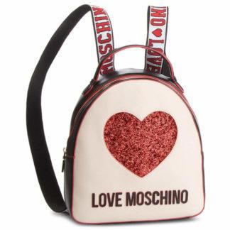 LOVE MOSCHINO BORSA NAPPA PU MIX NERO AVORIO JC4116PP17L3100A