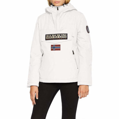 NAPAPIJRI RAINFOREST POCKET DONNA W WINT N0Y5B002 BIANCO