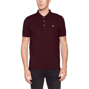 LYLE & SCOTT POLO SHIRT SP400VB 865 BORDEAUX