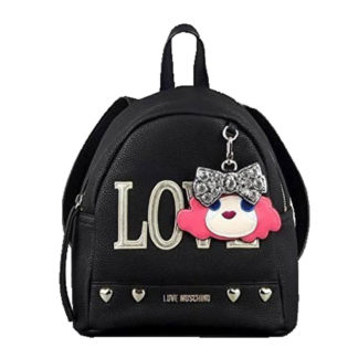 LOVE MOSCHINO BORSA PEBBLE PU NERO JC4254PP07KH0000