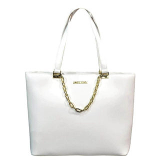 LOVE MOSCHINO BORSA SMOOTH PU BIANCO JC4306PP07KQ0100