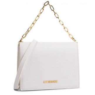 LOVE MOSCHINO BORSA SMOOTH PU BIANCO JC4309PP07KQ0100