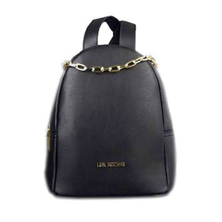 LOVE MOSCHINO BORSA SMOOTH PU NERO JC4308PP07KQ0000