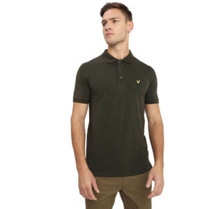 LYLE & SCOTT POLO SHIRT SP400VB 028 DARK SAGE