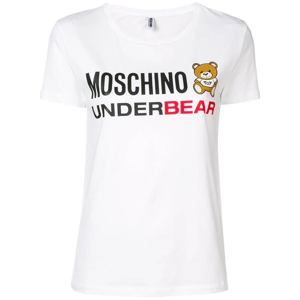 T Shirt Moschino 9003 A1903 Napoli Donna 1Mediterraneo K1cJTlF3