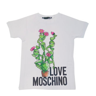 LOVE MOSCHINO DONNA T SHIRT W4G76 01 E2011 A00