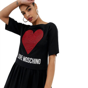 LOVE MOSCHINO DONNA ABITO MC W5B00 01 M3517 C74