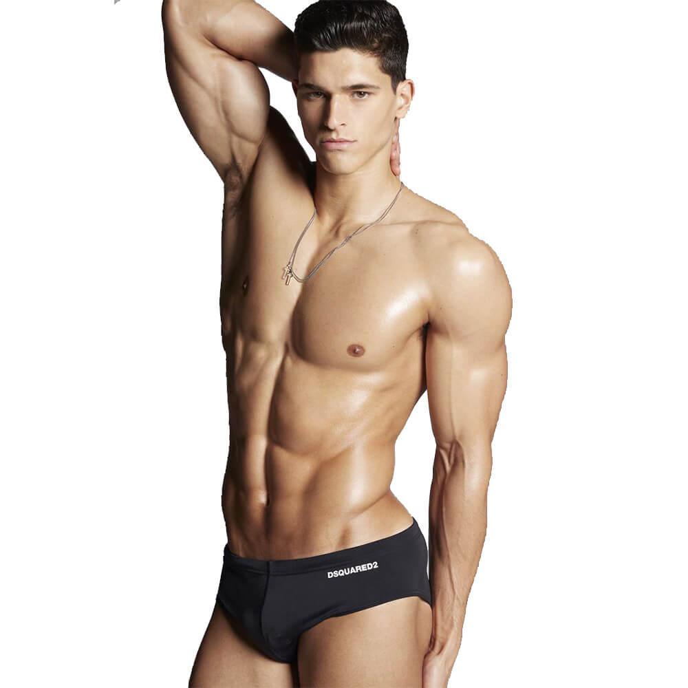 official site drop shipping classcic Details about DSQUARED2 UNDERWEAR SEA D7B33237 201 BLACK