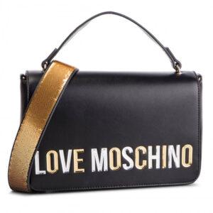 LOVE MOSCHINO BORSA PU NERO JC4257PP07KI0000