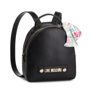 LOVE MOSCHINO ZAINETTO SOFT GRAIN PU NERO JC4241PP07KF0000