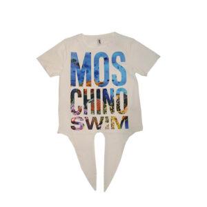 MOSCHINO DONNA T SHIRT A1902 2116 0001 BIANCO
