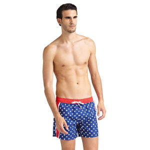 GUESS WOVEN SHORT STAR PRINT F92T10 WP005 PC64