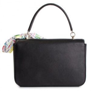LOVE MOSCHINO BORSA SOFT GRAIN PU NERO JC4240PP07KF0000