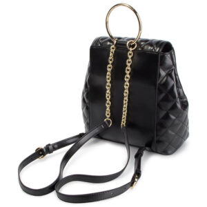 LOVE MOSCHINO ZAINETTO BORSA QUILTED PU NERO JC4206PP07KA0000