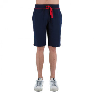 POLO RALPH LAUREN SHORT IN FELPINA 714730619002 NAVY RED