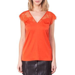 GUESS TOP DONNA MARTINA W91H03 W8IK0 G501 RED