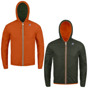 K-Way JACQUES PLUS DOUBLE K002XP0 C32 Orange Dk-Black T