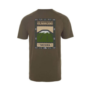 THE NORTH FACE T SHIRT T0CEQ821L GREEN