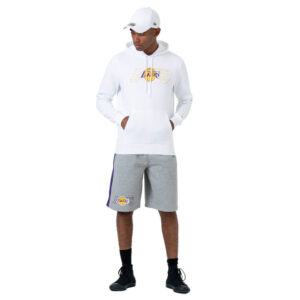 New Era NBA GRAPHIC OVERLAP FELPA 12033465 BIANCO