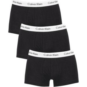 CALVIN KLEIN 3 PACK BOXER U2664G001 NERO