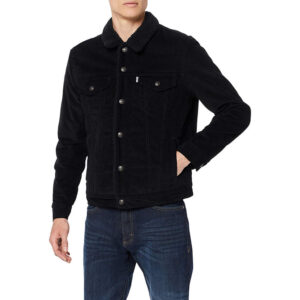 LEVI'S Sherpa Trucker Jacket 163650 068 black