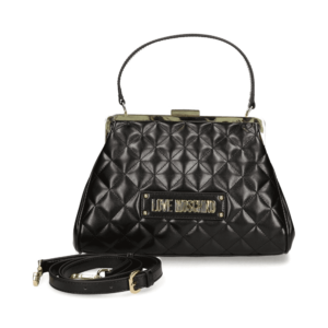 LOVE MOSCHINO BORSA QUILTED PU NERO JC4202PP08KA0000
