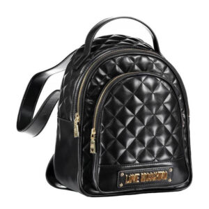 LOVE MOSCHINO BORSA QUILTED PU NERO JC4206PP08KA0000