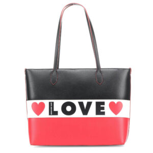 LOVE MOSCHINO BORSA SMALL GRAIN PU MIX JC4228PP08KD100A