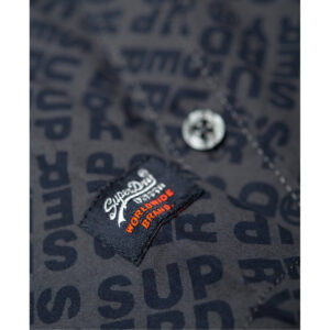 SUPERDRY CAMICIA MM M40103KT NAVY