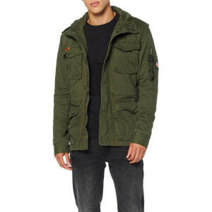SUPERDRY Giacca Classic Rookie M500011A MILITARY